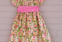 Baby girl dress patterns and tutorials
