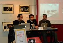 Presentación de nuestro espacio en Fnac Coruña / El día 18 de Noviembre de 2009 presentamos ante el público de la tienda Fnac de A Coruña nuestro Centro. En la charla se ha sintetizado la filosofía del centro, el funcionamiento de nuestros cursos y el motivo de nuestra apuesta por el Mac como plataforma de desarrollo y aprendizaje.