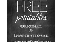 printables / by Jennifer Philipp