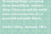 Quotes from Pacific Viking / Quotes from an epic historical fiction book Pacific Viking by Barnaby Allen