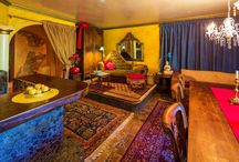 Bohemian/Flamboyant Furniture / Its all about mixture of fabrics, materials, colors and DIY..