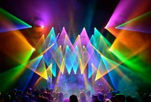 Colorful Lighting / Beautify and decorate with colorful lights, creating wonderful lighting effects.