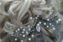 моя работа прически украшения для  волос))