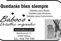 Anunciantes Coffee News Bilbao / Anunciantes
