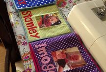 Fabric Photo Books / Here at Lilas little Lovelys we make fabric photo books for children and babies!  Here is our work! :)