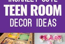 Room Decor / Ideas of how to redecorate my room