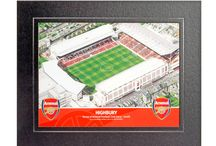 www.sportsstadiaart.co.uk Product Examples / A small selection of Stadia Merchandise available at www.sportsstadiaart.com