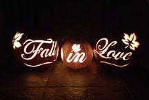 Autumn wedding diy