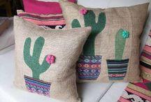 almohadones cactus