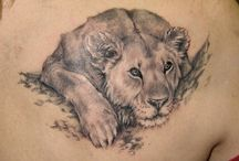 Tiger & Lion Tattoos