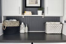 Laundry room ideas / by Michele Lagor Millette
