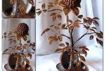 Kawowe dekoracje