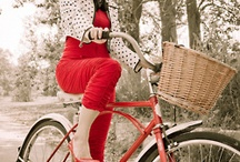 Cycle chic fashion editorials