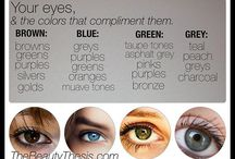 Enhance your beauty / By choosing the right make up colors and hair color for your eye color and skin tone you can create enhancement wonders! ☺️❤️