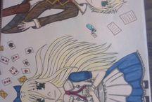 dessins dessinés par moi : )