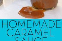 homemade for cooking or baking / noen ting som mangler på kjøler eller i skapene på kjøkkenet kan en lage selv hjemme.