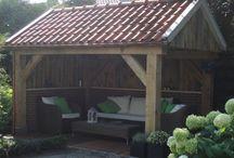 veranda / stookhut