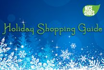 Holiday Shopping Guide 2013 / Looking for the perfect gift?   You can find something for almost everyone on your list at Nice Shoes.  We've put together this holiday shopping guide to help you out. No matter who you're shopping for, you'll find lots of ideas here. https://niceshoes.ca/giftguide
