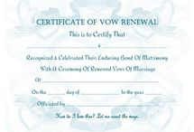 Vow renewals