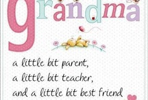 Grandparents Day- Sept 8 / What children need most are the essentials that grandparents provide in abundance.  They give unconditional love, kindness, patience, humor, comfort, lessons in life.  And, most importantly, cookies.