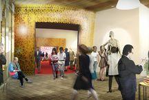 Humanistiska Teatern / I nära samarbete med Uppsala universitet byggs nu Humanistiska teatern. Målsättningen är att skapa ett unikt rum för en gränslös dialog där humaniora manifesteras och synliggörs. Här ska människan som tänkande och skapande individ stå i centrum. Den Humanistiska teatern ska bjuda in till dialog inom universitet mellan ämnen och fakulteter, samt mellan universitetet och omgivande samhälle – lokalt, nationellt och internationellt. Arkitekt: White arkitekter