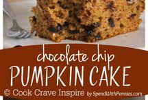 Pumpkin cakes