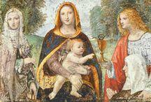 Бернардино Луини (1485-1532) / Миланский художник, один из наиболее известных последователей Леонардо да Винчи в Ломбардии. Он  написал многочисленные фрески, а также станковые картины.   Его работы хорошо представлены в Брера в Милане, и многие из его фресок и алтарей находятся в ломбардских храмах . Он писал на мифологические, а также религиозные сюжеты.
