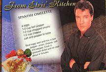 ELVIS HIS FAVORITE FOOD.