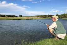 Fishing / Occasions spent with good people, rod and reel in hand