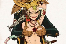TANK GIRL / by Amelia Rice