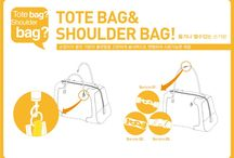 tote bag & shoulder bag!!!!