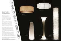 """SUZUSAN LUMINAIRES / Traditional japanese tye dye technic transformed into highly esthetical light objects. The polyester shades which are produced in the traditional """"shibori"""" techniqe are extremely easy to handle - if they get dirty over time simply put the fabric into the washing mashine..."""