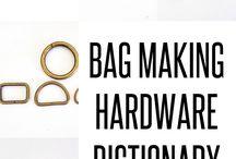 Bag making hardware