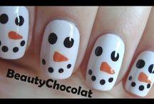 Mis uñas para Navidad