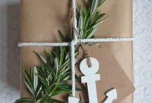Neutral Blue Christmas Decoration Ideas