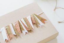 Metallic Gift Wrapping Ideas