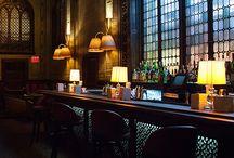 Bars with windows