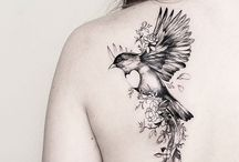 bird tattoo planning