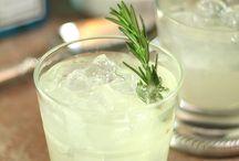 Cocktails met verse kruiden