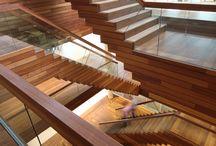 Trappen Staircases / Ik ben dol op trappen, deze trappen, heb ik ontworpen of veranderd of aangepast.