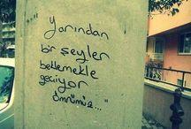 Duvar Yazıları / Şiir Sokakta