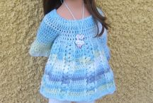 Poupées Götz / Mes créations au crochet pour les poupées Götz : Patrons et tenues disponibles dans ma boutique