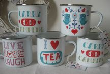 Enamel Mugs and Cups