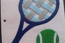 Raquetas de tenis y pelotas