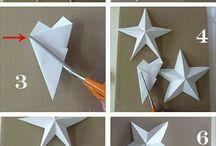 Gwiazdy z różnych materiałów