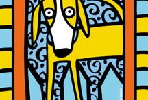 Canine Inspired Art and Dog Paintings