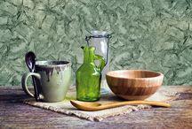 Kuchyňa / Inšpirácia dekoratívnych náterov do kuchyne.