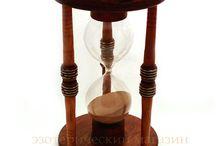 Hourglasses and clocks