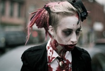 Zombie and special effects / Halloween assignment