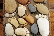 nožky z kamínků